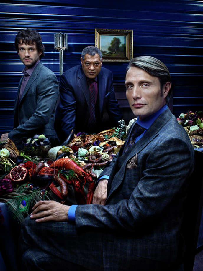 HANNIBAL: Network TV's most stylish and most terrifying series returns for a second season. Watch it -- if you don't get nightmares easily. NBC, Friday, Feb. 28 Photo: NBC, Robert Trachtenberg/NBC / 2013 NBCUniversal Media, LLC