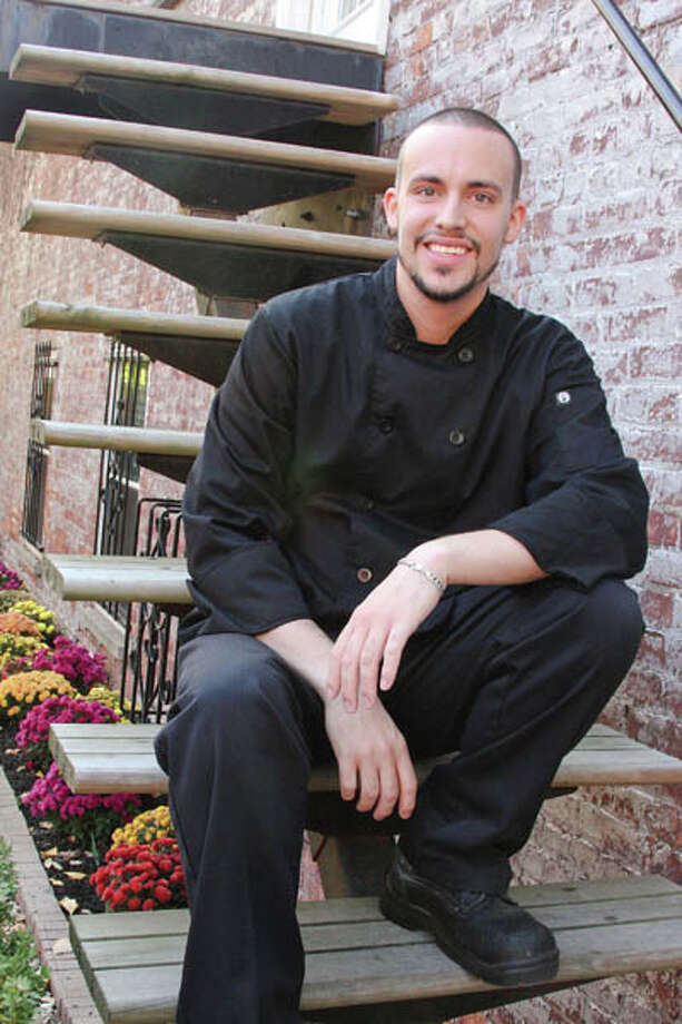 Ross Thompson, the head chef at The Olde English Pub & Pantry in Albany.