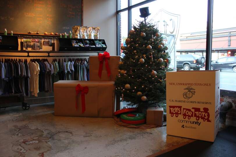 Toys For Tots Collection : Toys for tots collection box at belltown crossfit photo