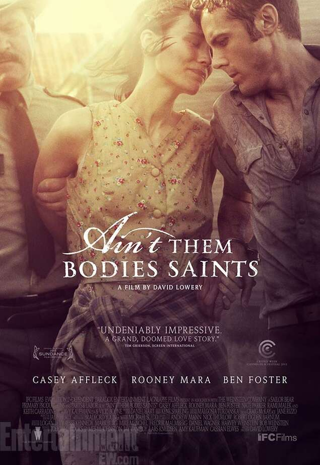 "AIN'T THEM BODIES SAINTS - Evocative and poignant, and the vintage look helps capture the whole ""Badlands""/Bonnie and Clyde vibe."