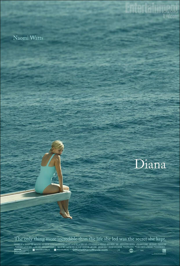 DIANA - The movie was not tpp well-received and the rest of the promotional materials could just as well end up on the worst list, but this one is aces. Simple. Striking. Beautiful.