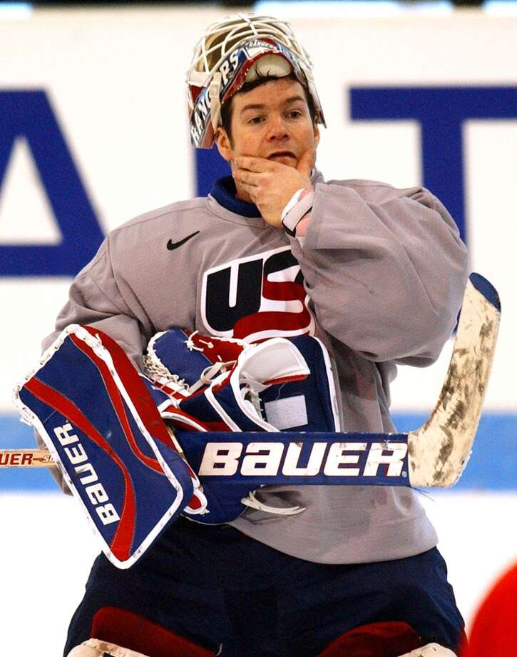 Mike Richter, American Stanley Cup-winning hockey player Photo: KEVORK DJANSEZIAN, AP