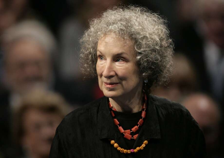 Margaret Atwood, Canadian author Photo: Daniel Ochoa De Olza, AP