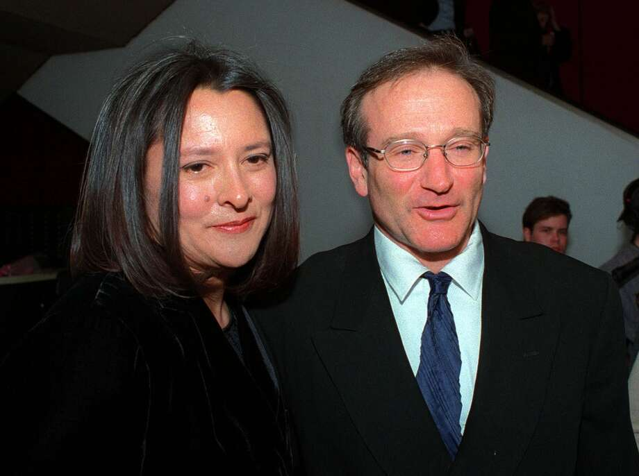Marsha Garces Williams (left), American film producer and wife of  actor Robin Williams Photo: MITCH JACOBSON, AP