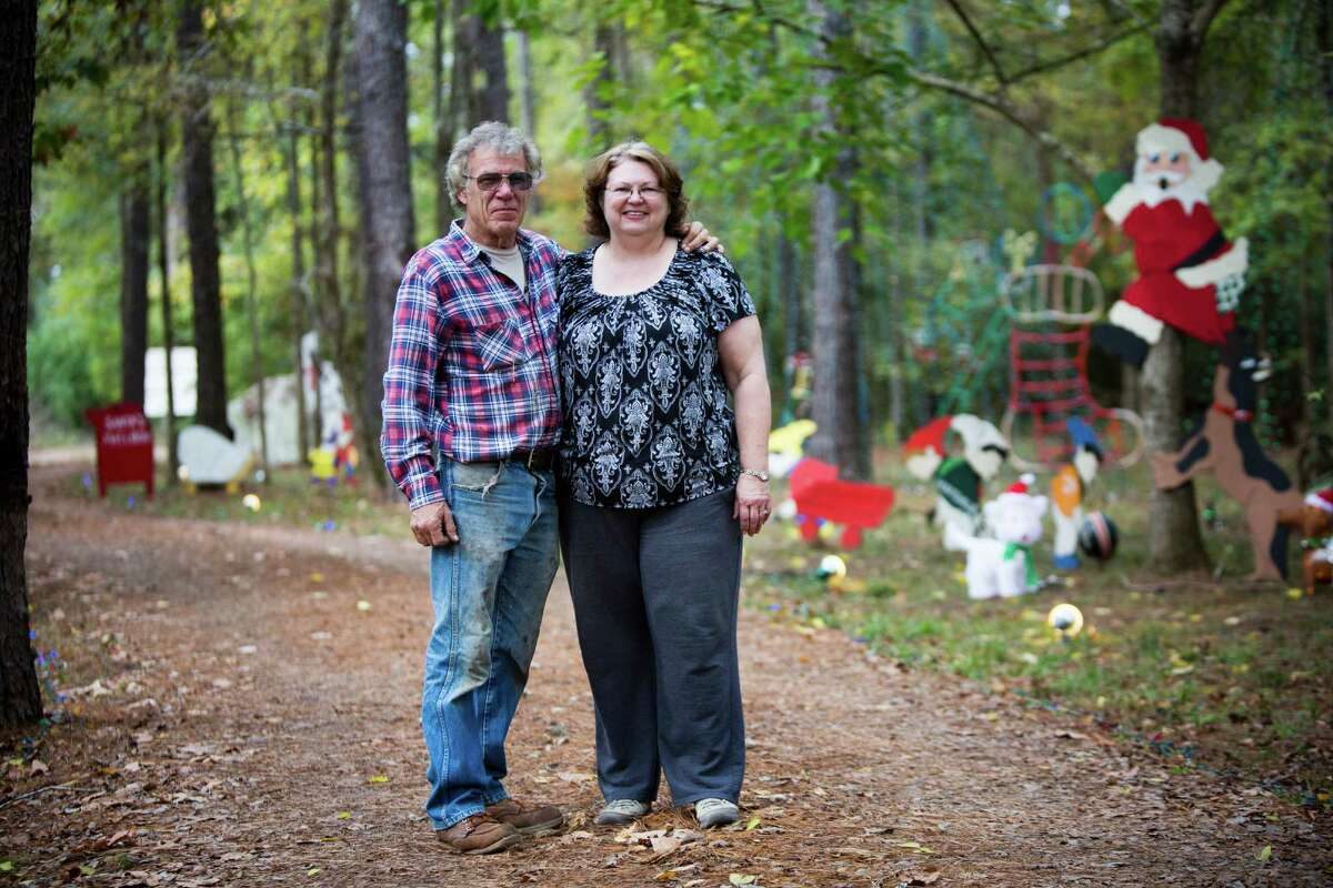 Bob Hanley and Diane Hanley created a Christmas tradition for the community.