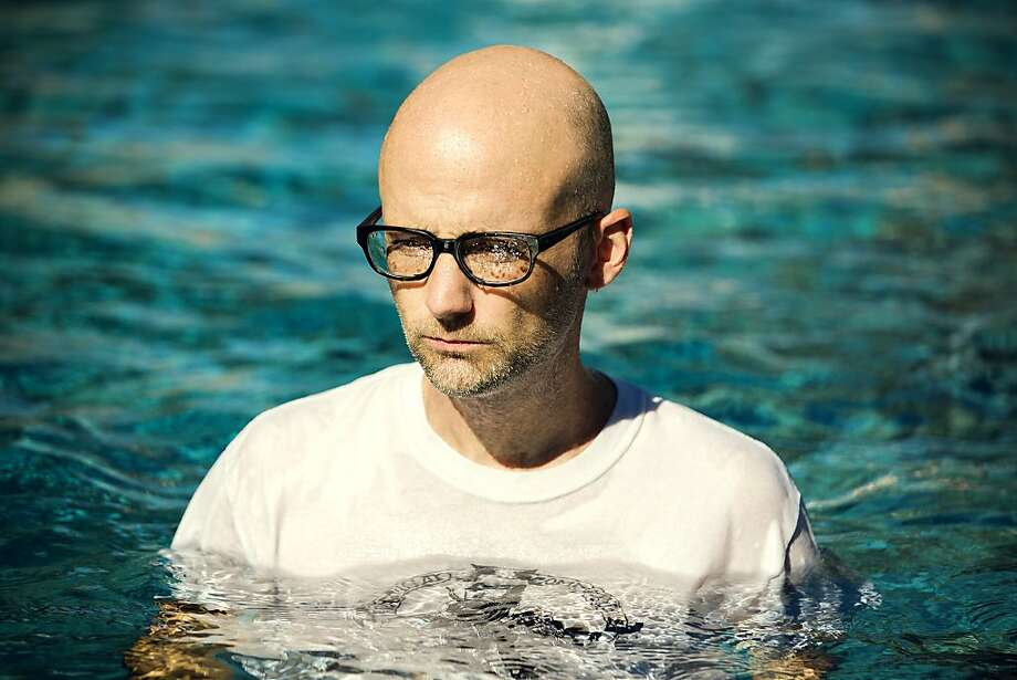 """Electronic musician Moby, who says, """"Musicians are buffoons,"""" doesn't take himself too seriously. Photo: Eleanor Stills, Mute"""