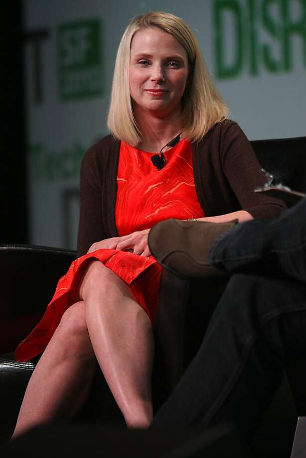 Yahoo CEO Marissa Mayer. Photo: Liz Hafalia, The Chronicle