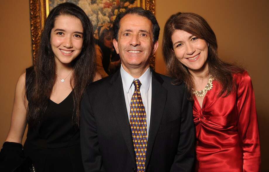 From left: Nadia Smati, Zin Smati and Nora Smati Photo: Dave Rossman, For The Houston Chronicle
