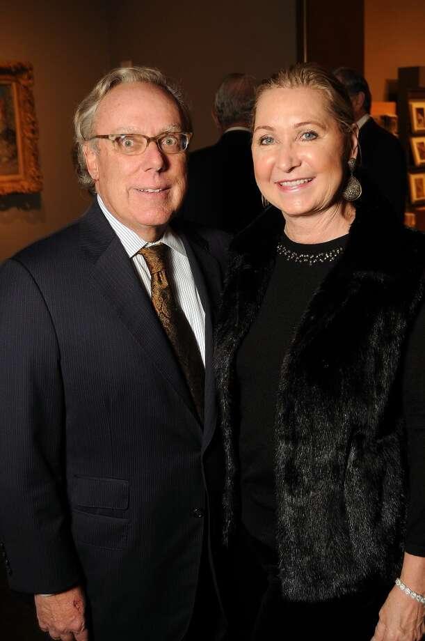 Carol and Mike Linn Photo: Dave Rossman, For The Houston Chronicle