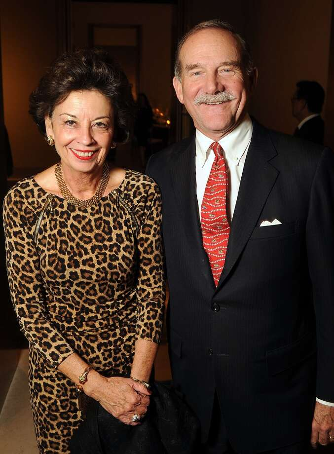Kathy and Martyn Goossen Photo: Dave Rossman, For The Houston Chronicle