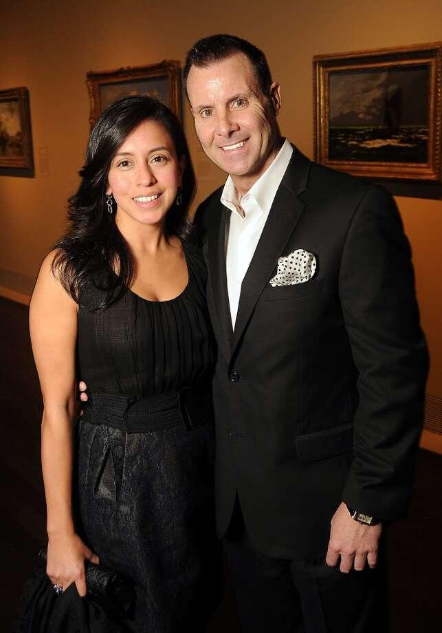 Rosie Ramirez and Brad Peterson Photo: Dave Rossman, For The Houston Chronicle