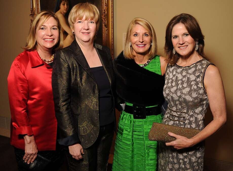 From left: Nancy Abendshein, Leslie Blanton, Lisa Mears and Judy Tate Photo: Dave Rossman, For The Houston Chronicle