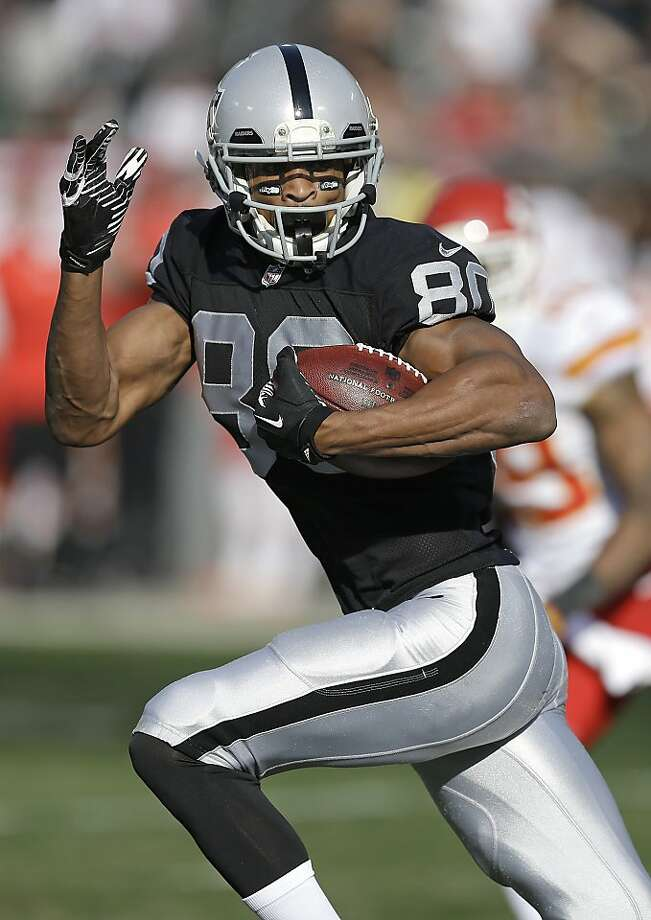 Rod Streater has 54 catches for 846 yards and has thrived since Matt McGloin became the starting quarterback. Photo: Ben Margot, Associated Press