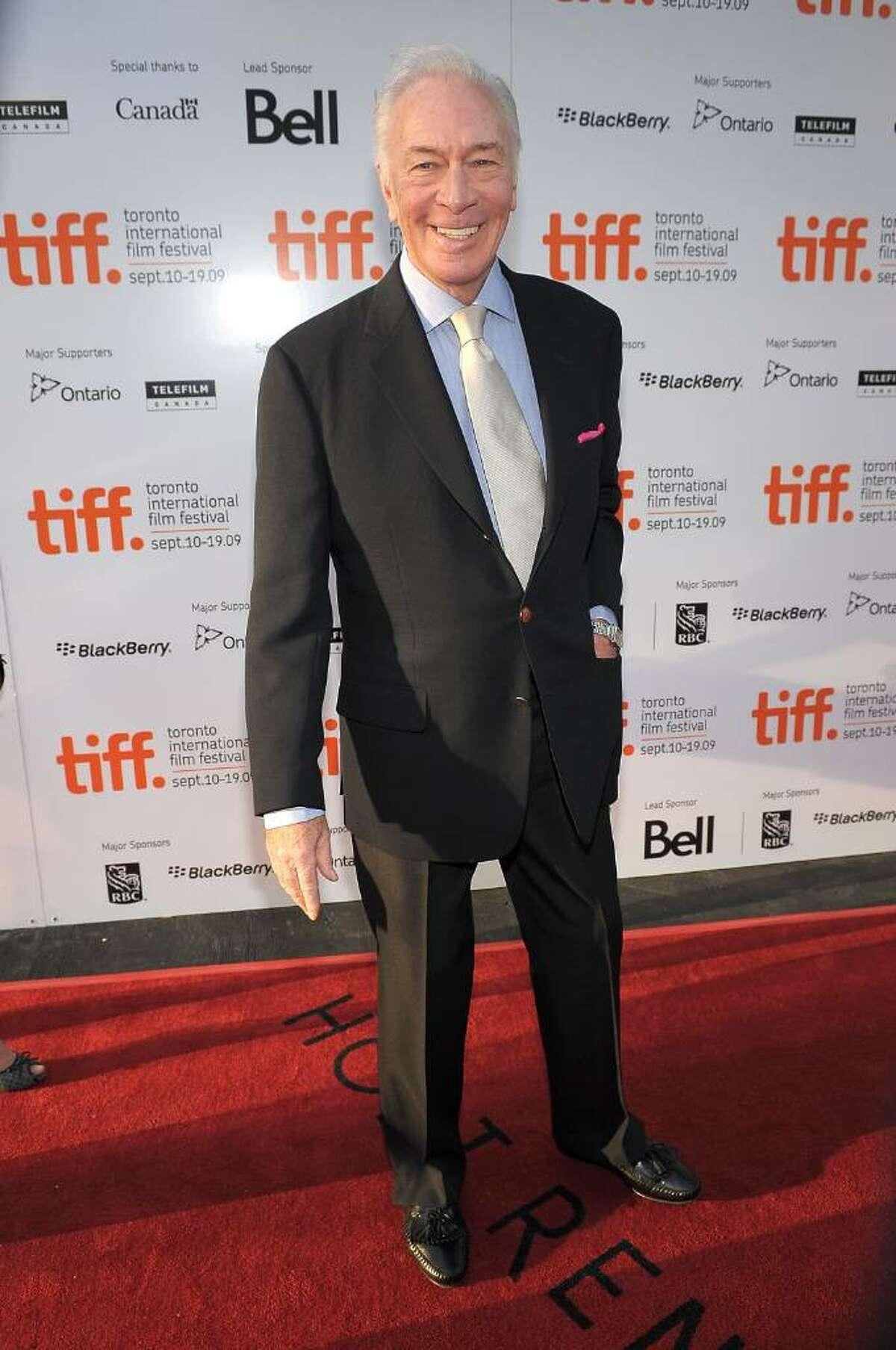 TORONTO, ON - SEPTEMBER 18: Actor Christopher Plummer attends the