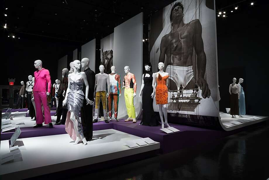 "The Fashion Institute of Technology in New York presented a look at gay fashion through the years in its recent exhibition ""A Queer History of Fashion: From the Closet to the Catwalk."" Photo:  Fashion Institute Of Technology"