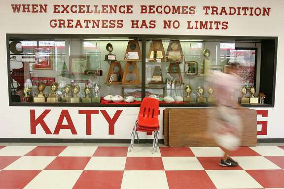 Considering Katy's success rate in football, the school soon will need a new trophy case to house its state championship hardware.