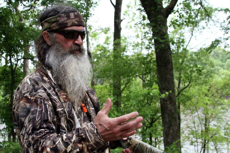 "Phil Robertson, patriarch of the ""Duck Dynasty"" family, has been suspended from the A&E television network show. Photo: Associated Press / The News-Star"