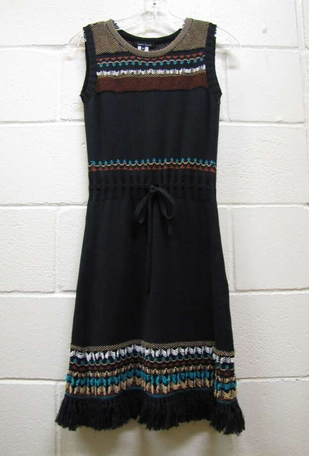 Embroidered drawstring dress, $89.40, Nanette Lepore, S & M Family Outlet, Beaumont Photo: Cat5