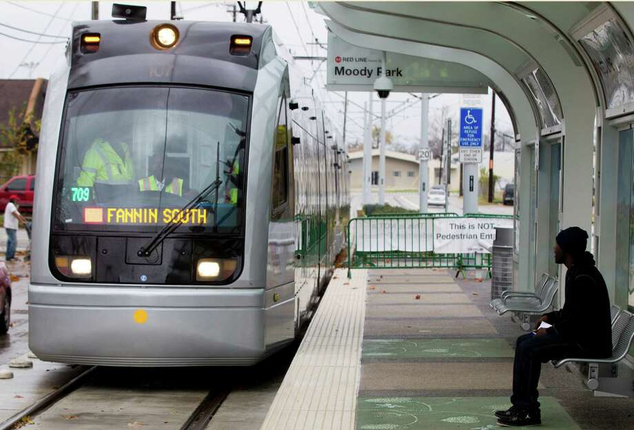 To build a light rail to and from the suburbs.It would probably help fix the traffic problem... Photo: Brett Coomer, Houston Chronicle / © 2013 Houston Chronicle