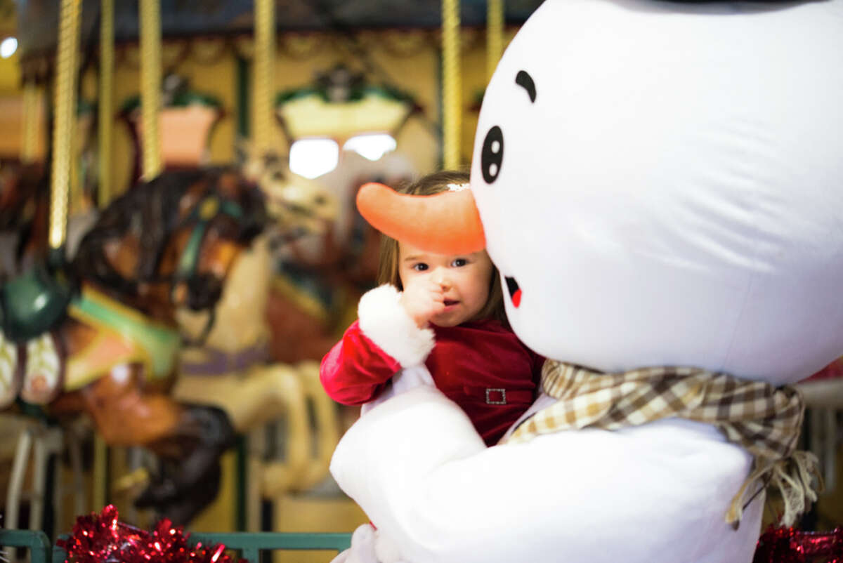 Were you SEEN at the Breakfast with Frosty and Friends at the Beardsley Zoo?