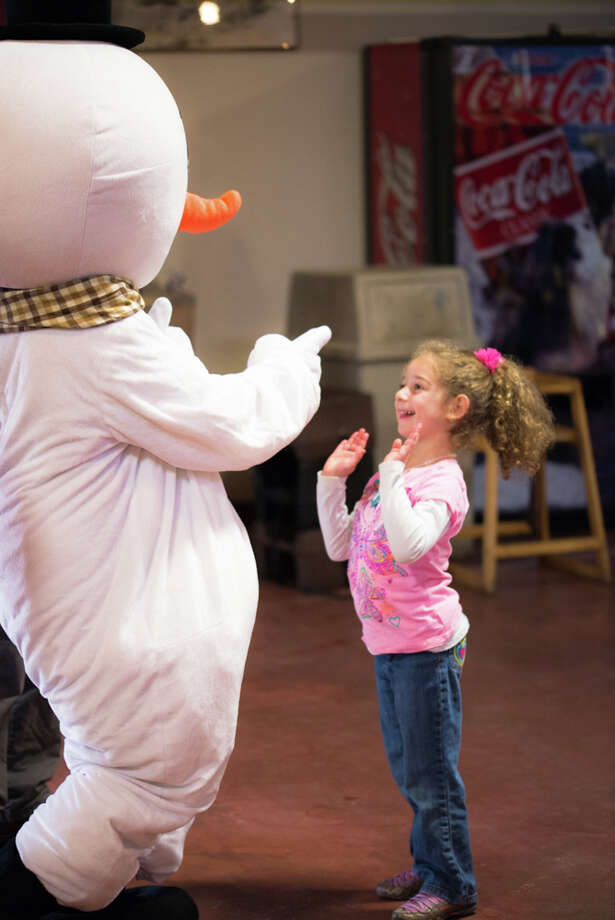 Were you SEEN at the Breakfast with Frosty and Friends at the Beardsley Zoo? Photo: Andrew Merrill