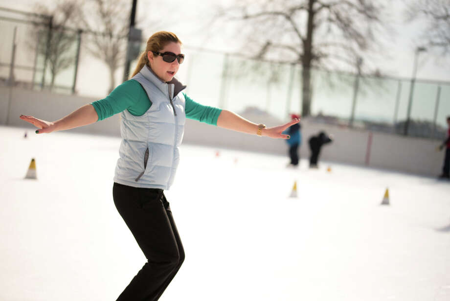 Were you Seen at the Westport Parks and Recreation lessons at the P.A.L Rink? Photo: Andrew Merrill