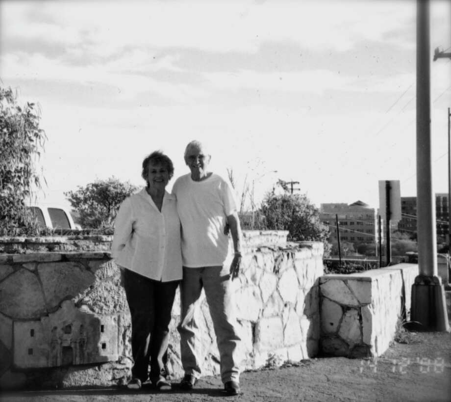 Now: Melvin E. Perez  and Mary A. Perez in San Antonio in 2008. Photo: Courtesy Photo / Melvin And Mary Perez
