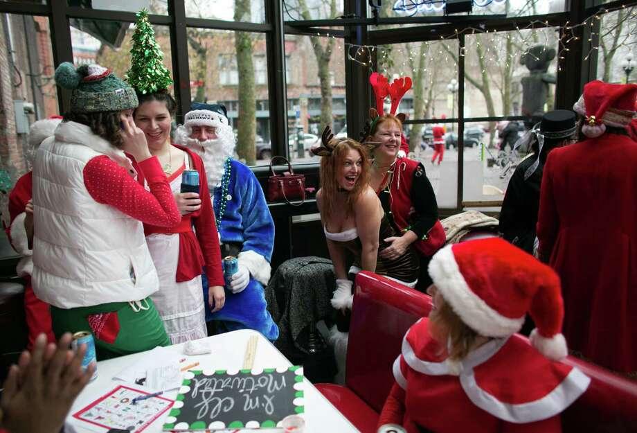 Participants get funny in the Comedy Underground. Photo: JOSHUA TRUJILLO, SEATTLEPI.COM / SEATTLEPI.COM