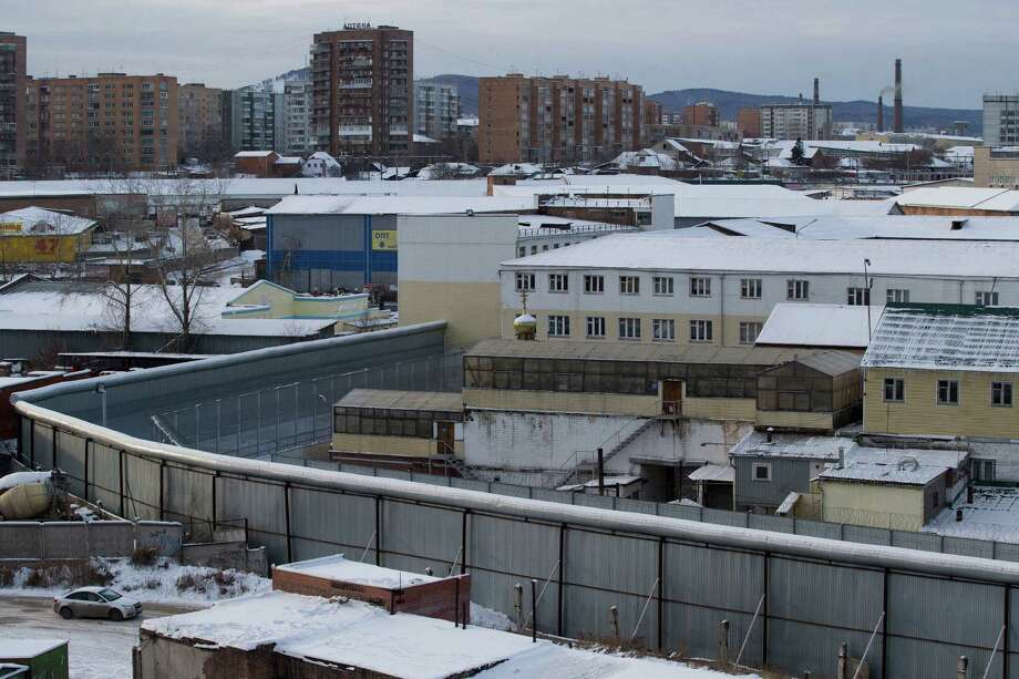 A general view shows the prison where Nadezhda Tolokonnikova is kept, in Krasnoyarsk, Russia, Saturday, Dec. 21, 2013. The Russian parliament has given approval to an amnesty that could pardon jailed members of the punk band Pussy Riot, Tolokonnikova and Maria Alekhina who are serving two years in prison on charges of hooliganism for an irreverent protest at Moscow's main cathedral. Photo: Pavel Golovkin, AP / AP2013