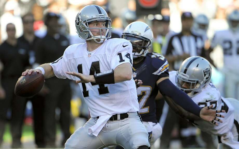 After a three-TD debut, Matt McGloin has five TD passes and eight interceptions in his past five starts. Photo: Denis Poroy, Associated Press