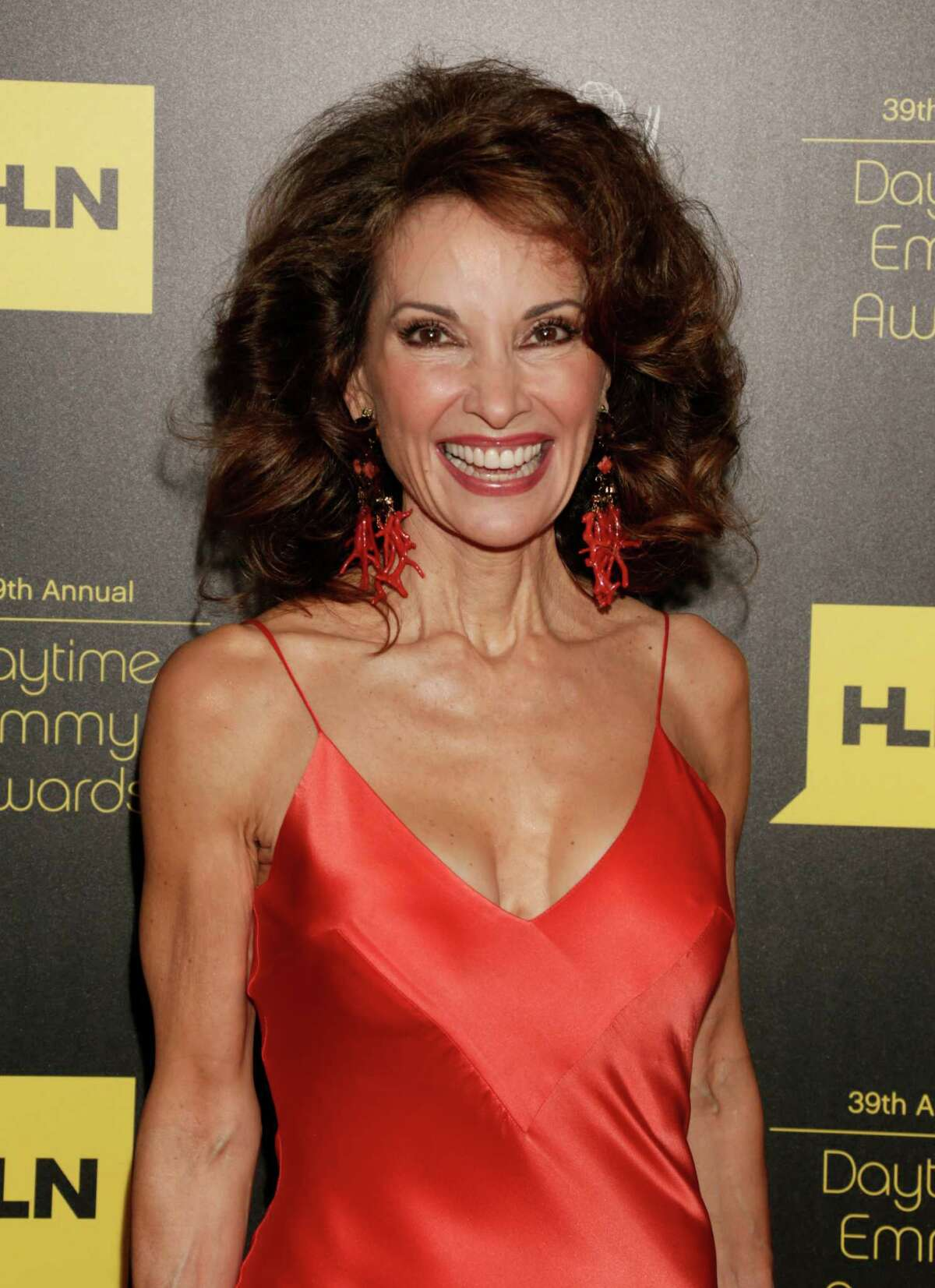 Susan Lucci arrives at the 39th Annual Daytime Emmy Awards at the Beverly Hilton Hotel on Saturday, June 23, 2012, in Beverly Hills, Calif. (Photo by Todd Williamson/Invision/AP)