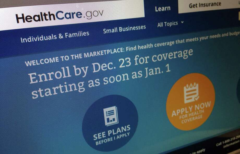 This Dec. 20, 2013, image shows part of the HealthCare.gov website in Washington, that notes to enroll by Dec. 23 for coverage starting as soon as Jan. 1, 2014. Policies will soon take effect in new health insurance markets that have been trying to enroll customers. Photo: Jon Elswick, AP / AP