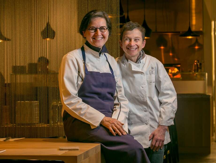 Chef Amaryll Schwertner, left, and Lori Regis at Bouli Bar in San Francisco. Photo: John Storey, Special To The Chronicle