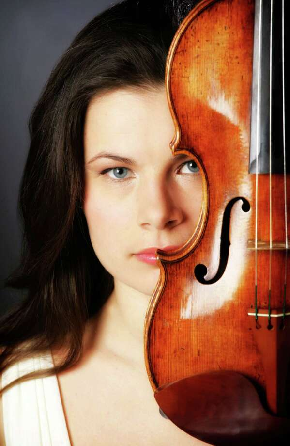 Violinist Bella Hristova will be appearing in a Music for Youth concert on Saturday, Jan. 11  at the Pequot Library. Photo: Contributed Photo / Fairfield Citizen