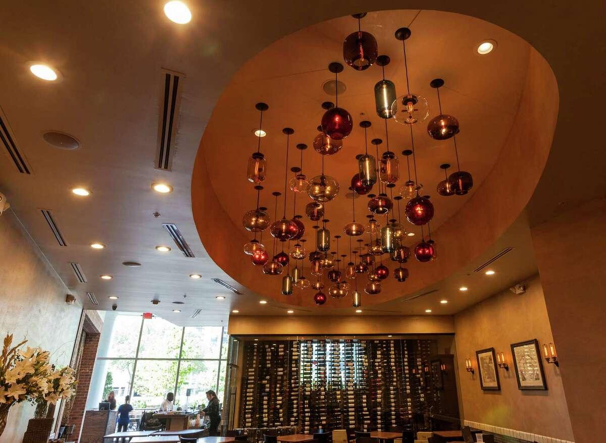 1. Osteria Mazzantini: Restaurant interior (Craig H. Hartley/For the Chronicle)