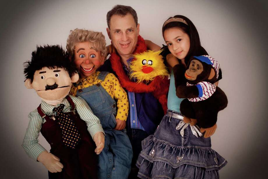 "Ventriloquist  Jonathan Geffner will put on two performances of his ""Puppet Power!"" show in the Saugatuck Elementary School auditorium. Shows are at 4:30 and 5:30 p.m. Photo: Contributed Photo / Westport News"