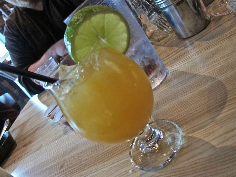Libations at Fielding's Wood Grill in The Woodlands. Photo: Alison Cook
