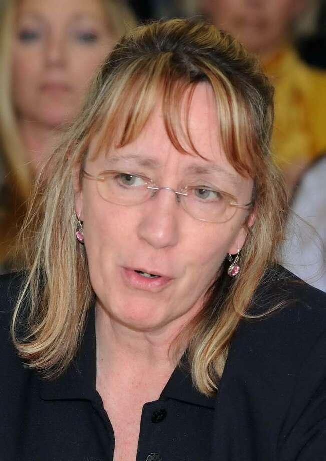 Newtown's Assistant Clerk, Monica Duhancik Photo: Lisa Weir / The News-Times