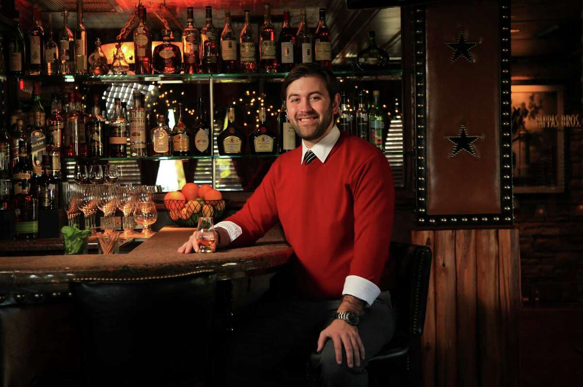Matt Tanner, new beverage manager for Pappas Restaurants, offers craft cocktails at Pappas Bros. Steakhouse.