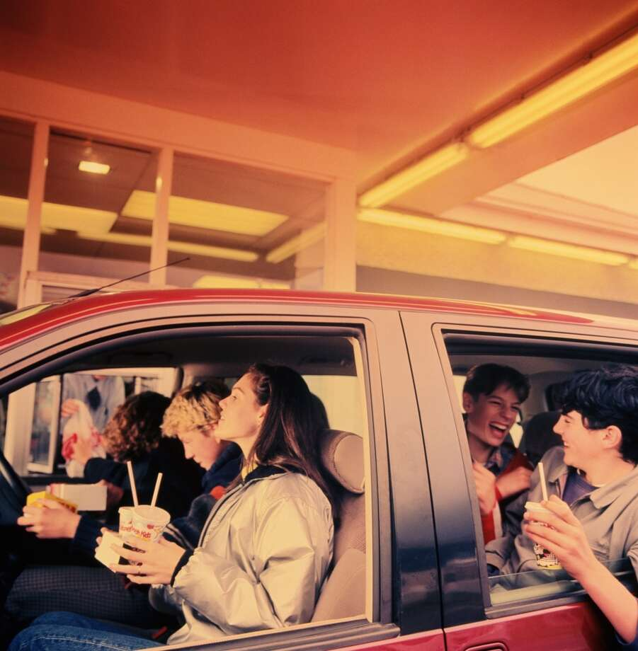 Drive-through fast food