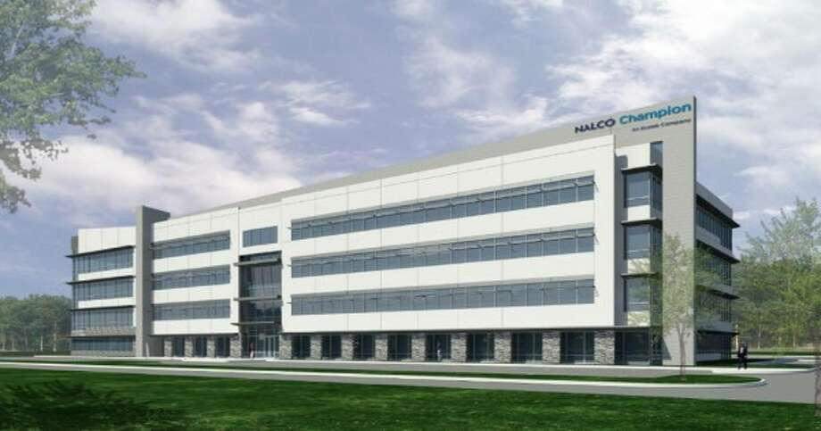 Energy services company Nalco Champion  announced plans to build a new headquarters building in Sugar Land to house 1,000 employees,