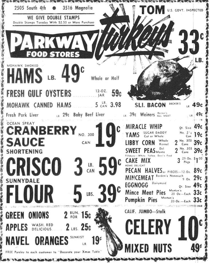 Ads appearing in 1963 editions of The Enterprise.