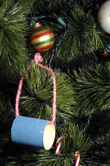 Armando Perez, Spring: This is an ornament made in an early childhood class by our son 38 years ago