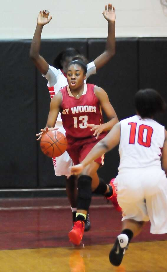 Cypress Woods junior guard Erica Ogwumike developed a 3-point shot over the summer, helping her boost her scoring to 20 points per game. Photo: Â Tony Bullard 2013, Freelance Photographer / © Tony Bullard & the Houston Chronicle