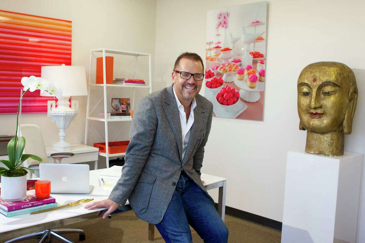 Portrait of Dallas-based event planner, Todd Fiscus, in his new Houston office where he is growing his company Todd Events into the Houston market Tuesday, Dec. 3, 2013. ( Johnny Hanson / Houston Chronicle )