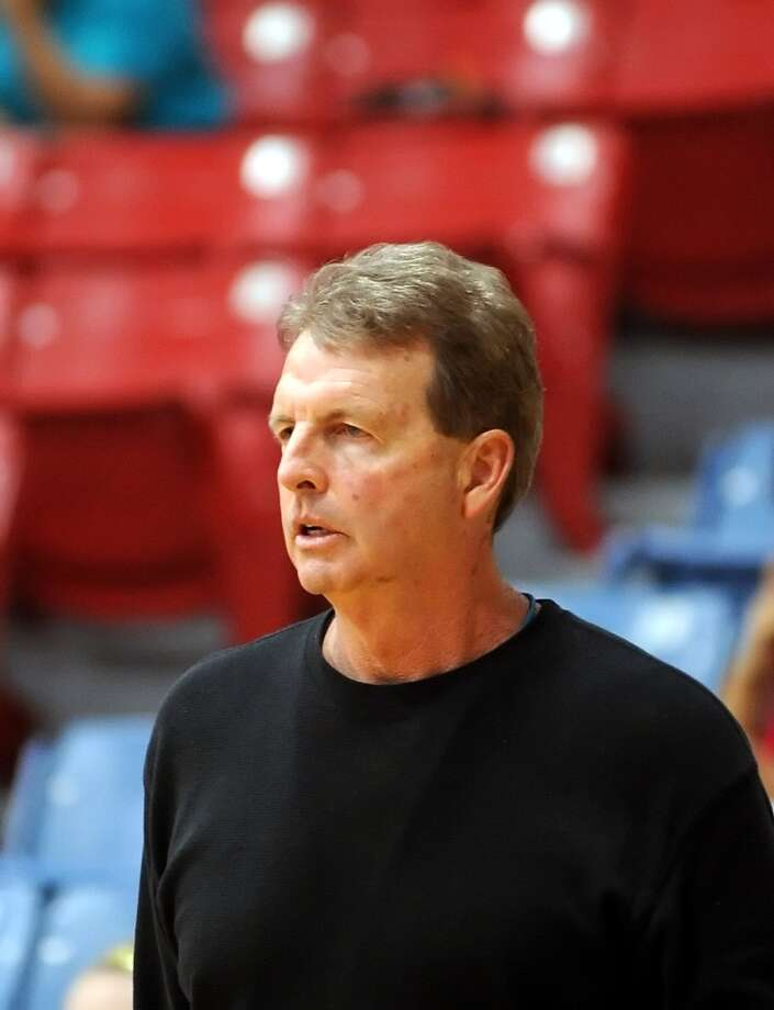 Fort Bend Clements defeated Fort Bend Kemptner, 48-34,  in a boys basketball game held at Mercer Field House, 12-20-13.   Clements boys varsity basketball coach Ralph Farley. Photo: Eddy Matchette, Freelance / Freelance