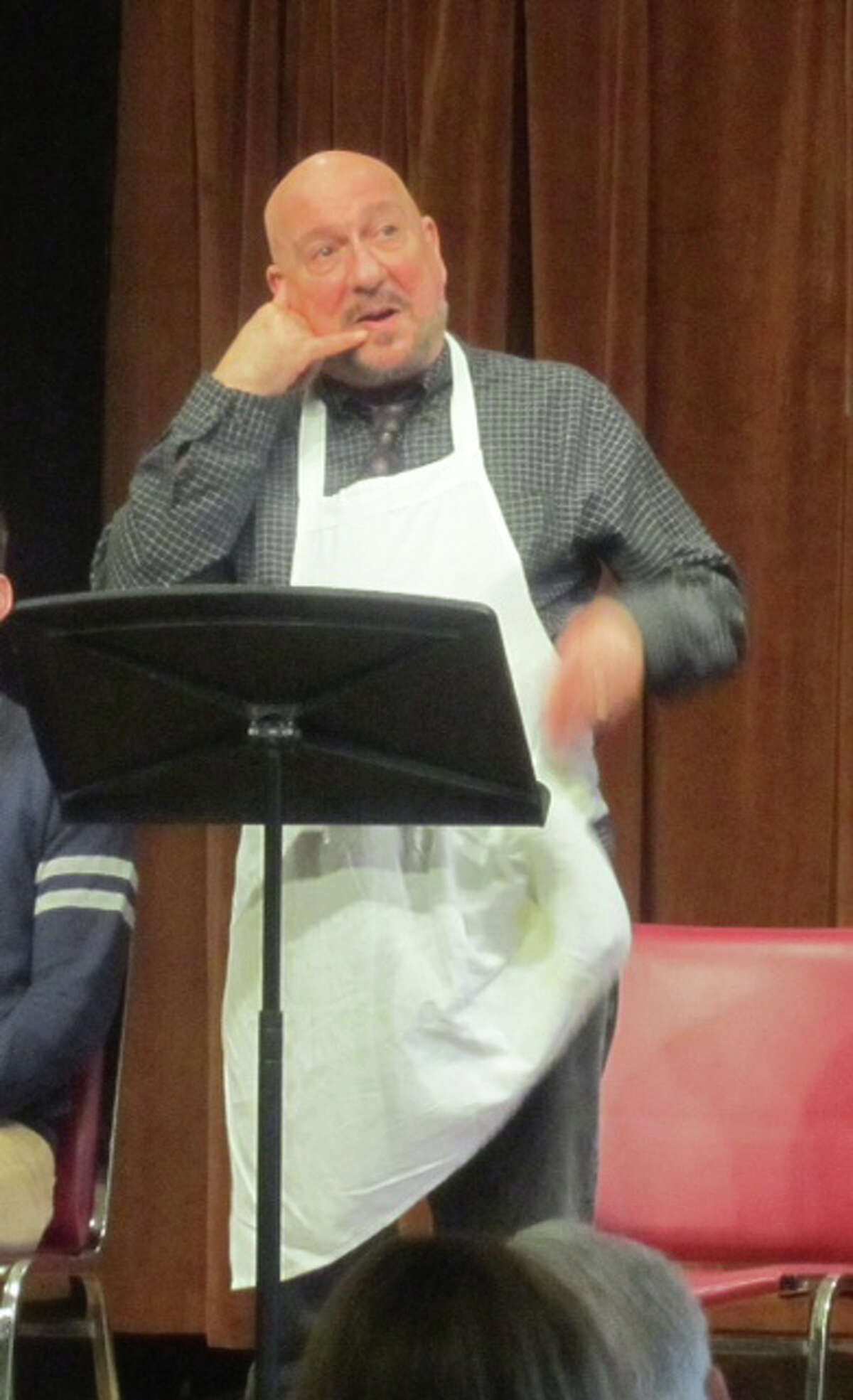 Tom Zingarelli of New Haven, Conn., is among the performers that will be featured during Play With Your Food's January 2013 productions in Westport, Fairfield and Greenwich. Get the full schedule and other information at www.jibproductions.org.