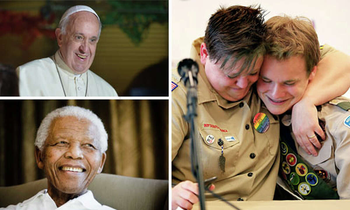 From changes in how the country handles gay marriage to a death felt by the entire world, see which religion stories made an impact this year.