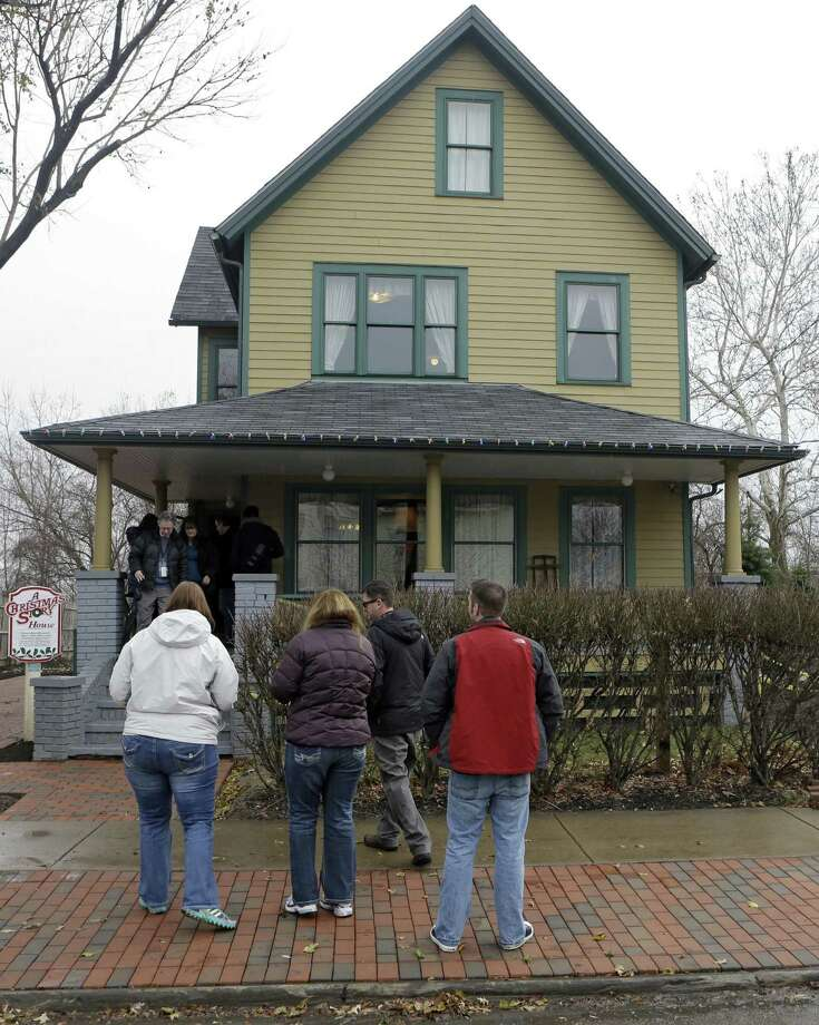 "The house in Cleveland where much of the 1983 movie ""A Christmas Story"" was filmed was put up for auction in 2005 and later restored to its film appearance. The house and adjacent museum expect an influx of visitors on the 30th anniversary of the quirky holiday film. / AP"