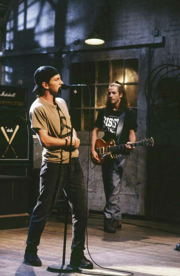 1992: Pearl Jam rocks Saturday Night Live. Photo: NBC, Getty Images / © NBC Universal, Inc.